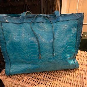 Teal blue Liz Claiborne purse